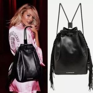 Victoria's Secret Fashion Show Black Backpack